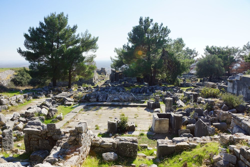 M.Ö. 4.yüzyılda kurulan ilk planlı şehir Priene - 10