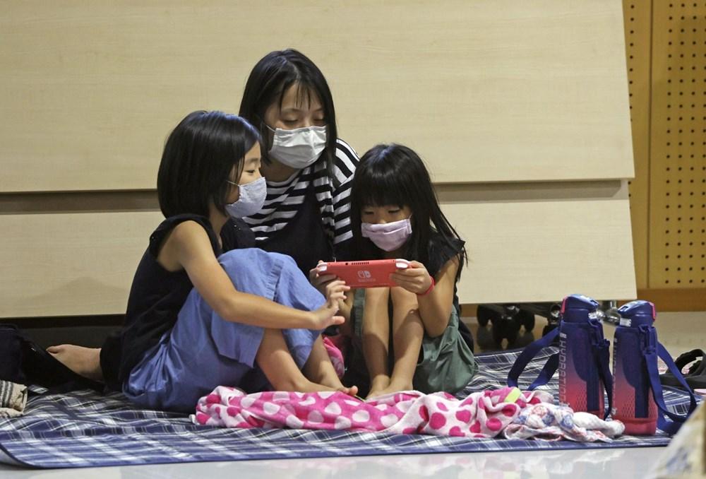 Japonya'da Haişen tayfunu nedeniyle 8 milyonu aşkın kişinin tahliyesi istendi - 2