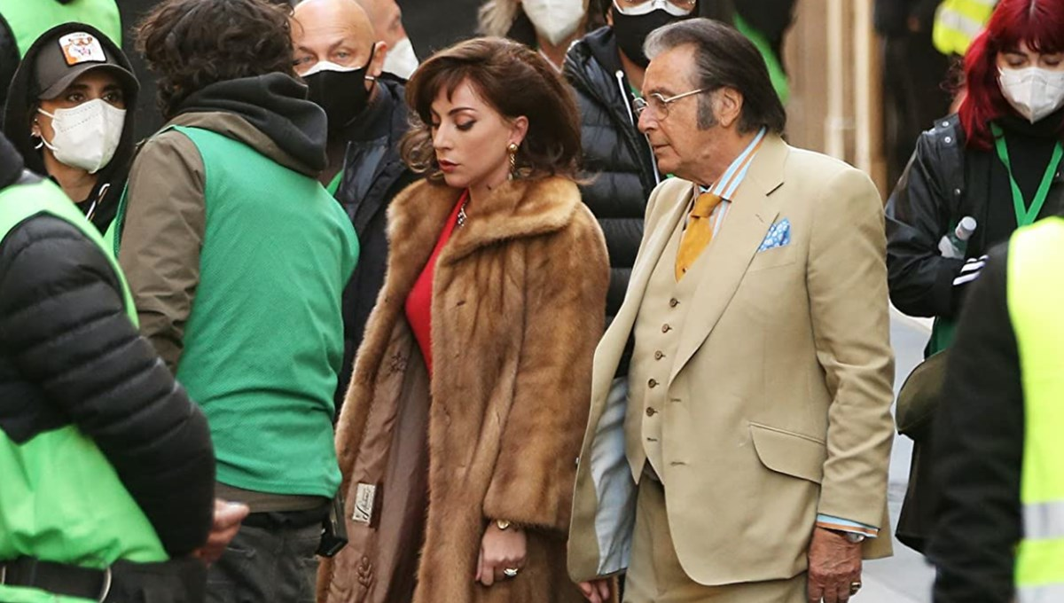 Lady Gaga, Adam Driver ve Al Pacino'yu buluşturan House of Gucci'den karakter afişleri