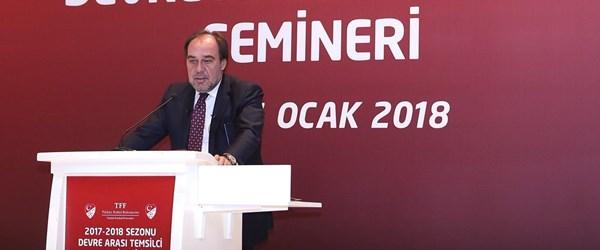"""""""Amacımız Türk futbolunu en üst noktaya taşımak"""""""