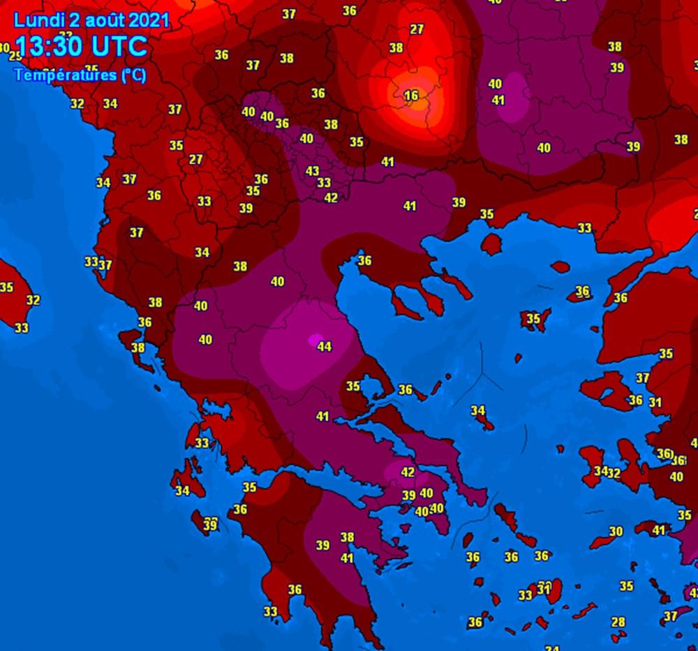 Güney Avrupa aşırı sıcaklarla mücadele ediyor: 45 dereceye ulaştı - 6