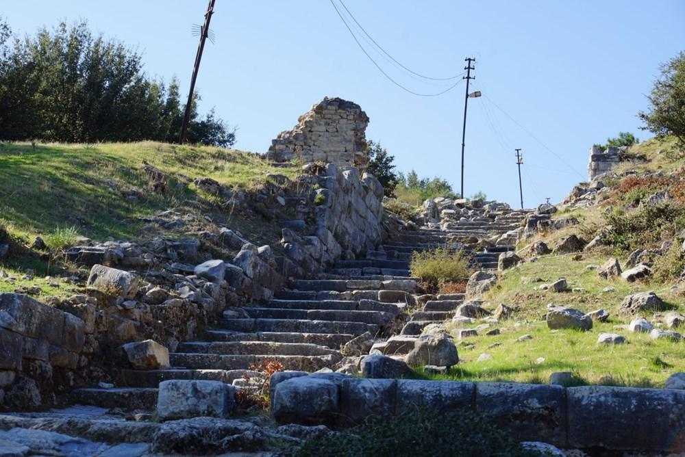M.Ö. 4.yüzyılda kurulan ilk planlı şehir Priene - 11