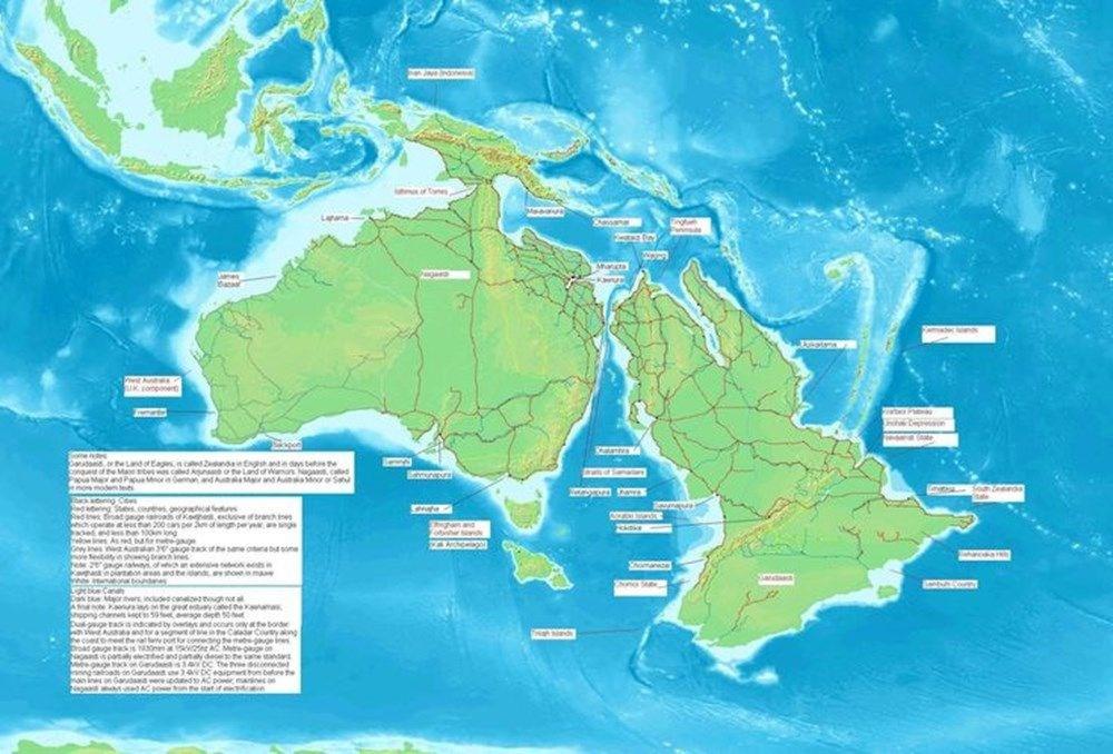 'Kayıp Kıta'nın haritası çıkarıldı - 5