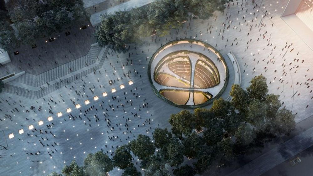 Taksim Meydanı Tasarım Yarışması sonuçlandı (Taksim Meydanı böyle olacak) - 29