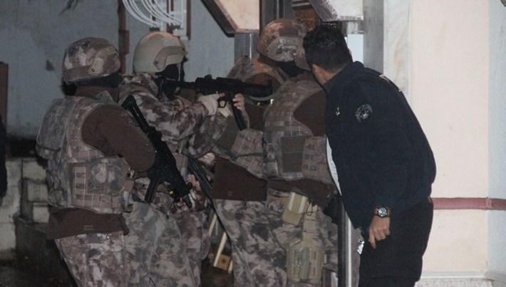 Adana'da DAEŞ operasyonu