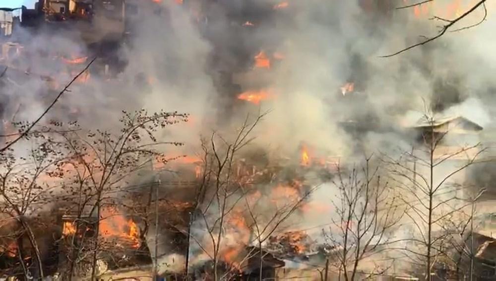 Artvin'deki yangın kontrol altında - 13