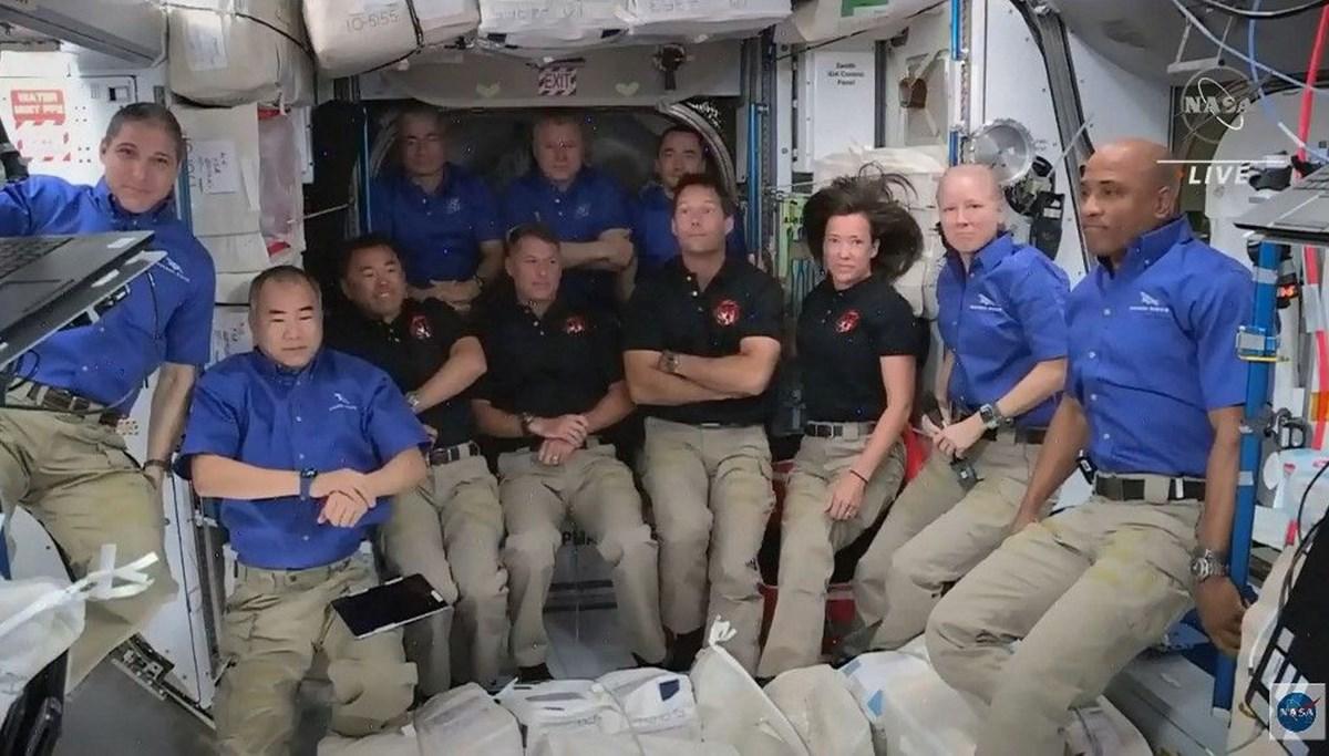 Uzay on yılın en kalabalık günlerini yaşıyor: SpaceX ile birlikte 11 astronot oldu