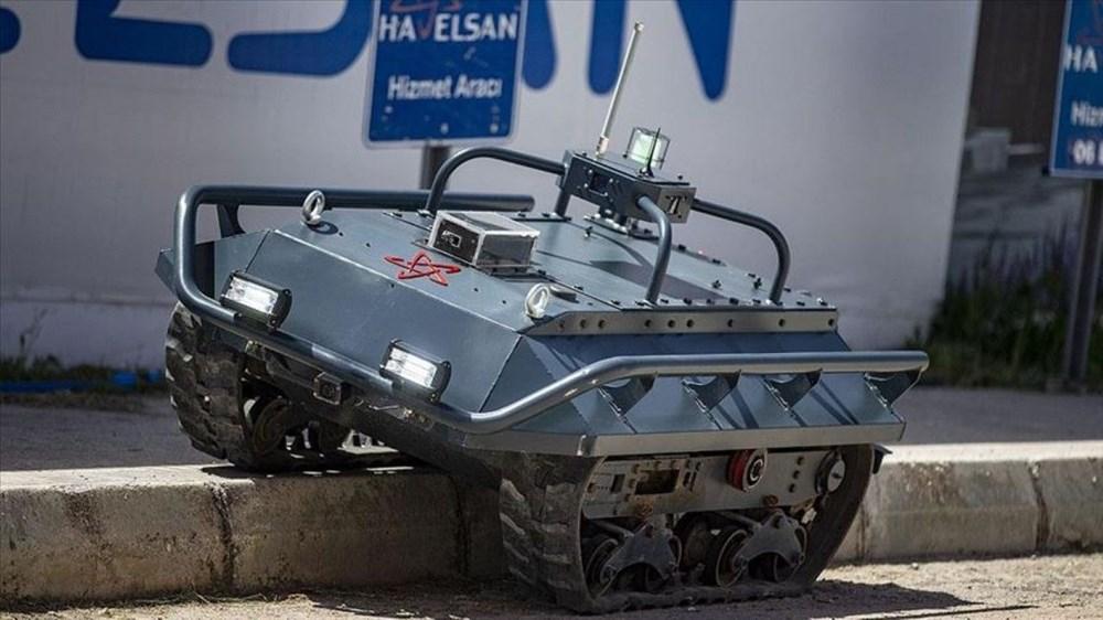 Dijital birliğin robot askeri Barkan göreve hazırlanıyor (Türkiye'nin yeni nesil yerli silahları) - 50