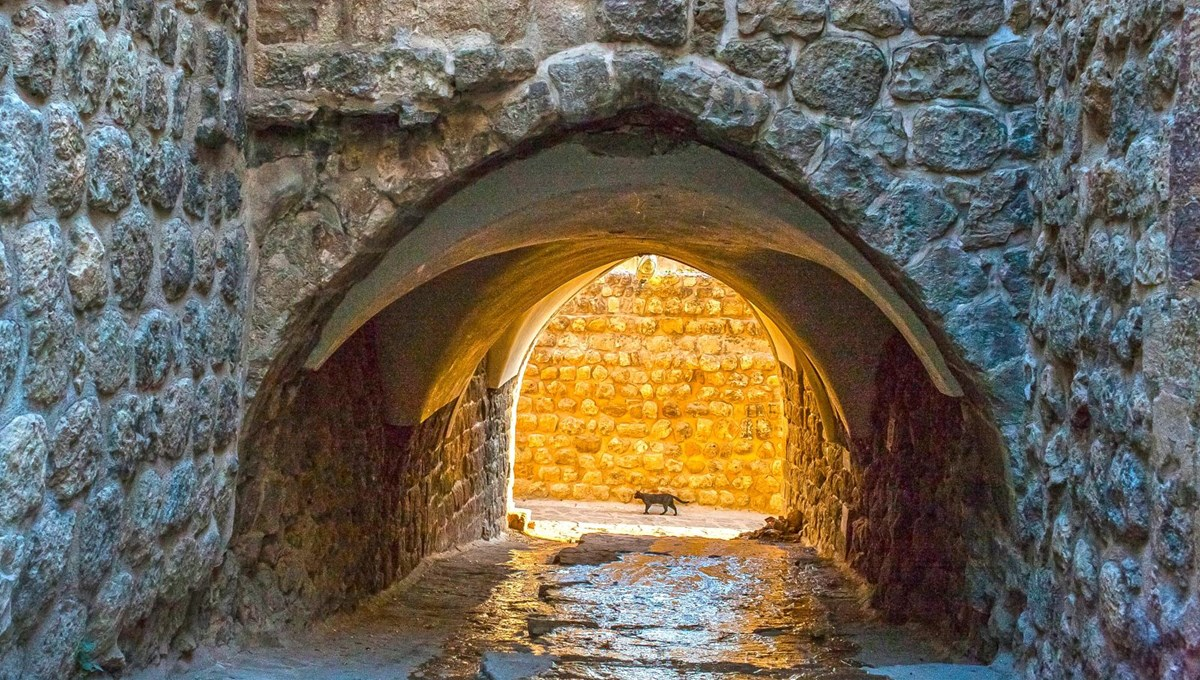 Mysterious buildings of the ancient city of Mardin: Abbaras