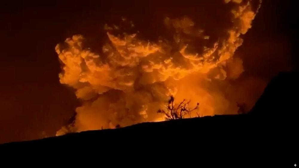 Kilauea Yanardağı'nda patlamaları: Krater gölü buharlaştı - 8