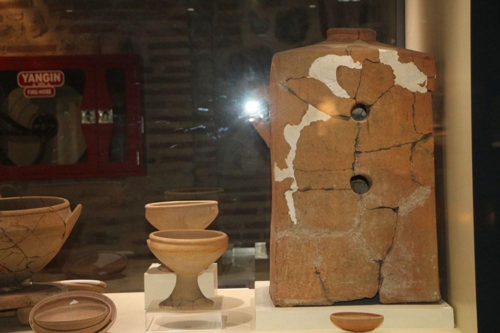 Hitit dönemi sobası 'maltız' müzede - 2