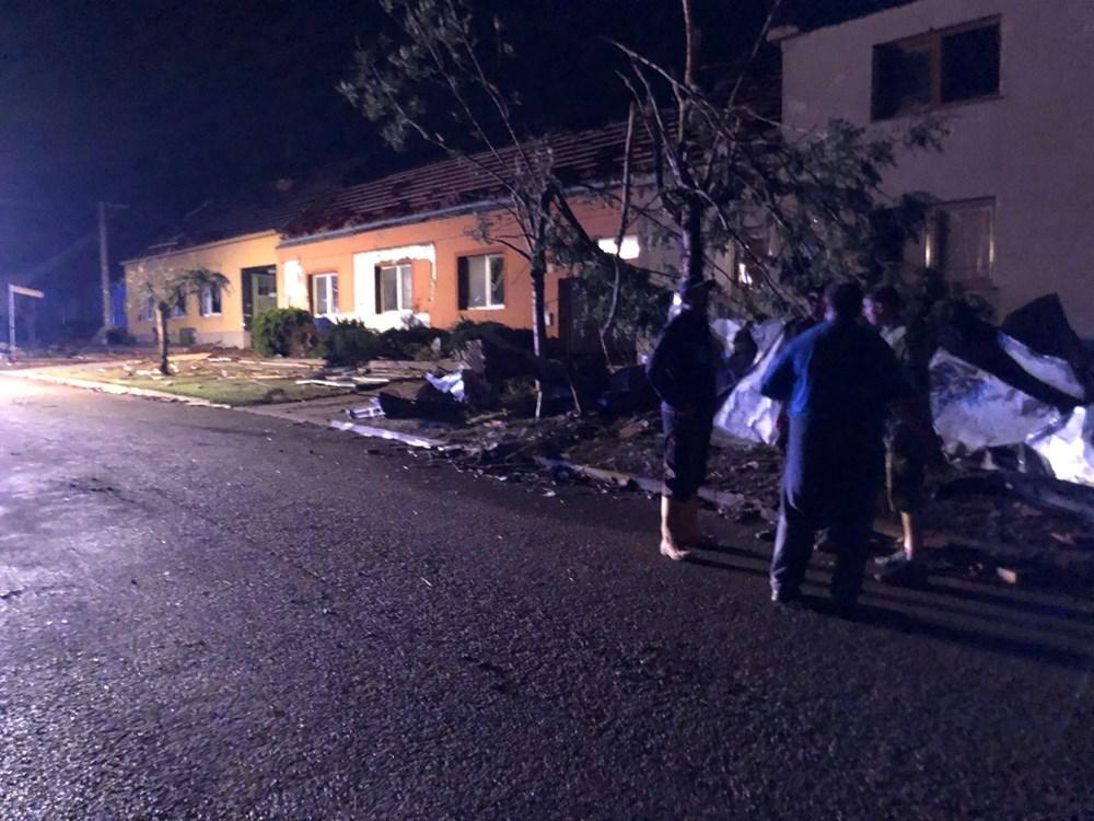 Çekya'yı kasırga vurdu: 150 yaralı - 9