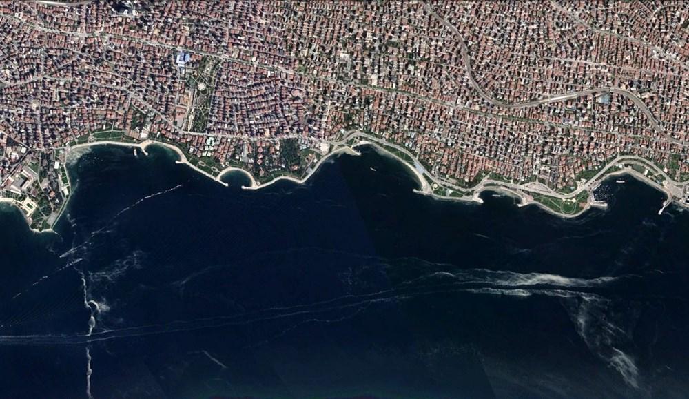 İstanbul'daki müsilaj uzaydan görüntülendi - 3