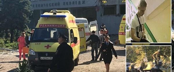 Kırım'daki okul saldırısında ölü sayısı 20'ye çıktı