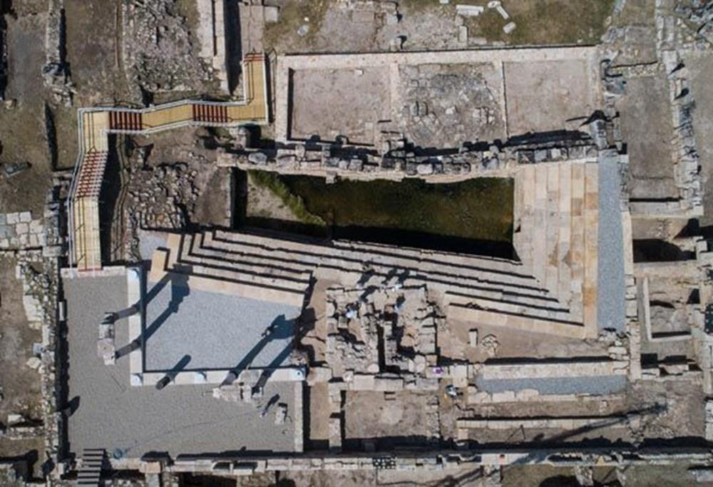 Türkiye'nin 'cehenneme' açılan  kapısının binlerce yıllık sırrı keşfedildi - 11