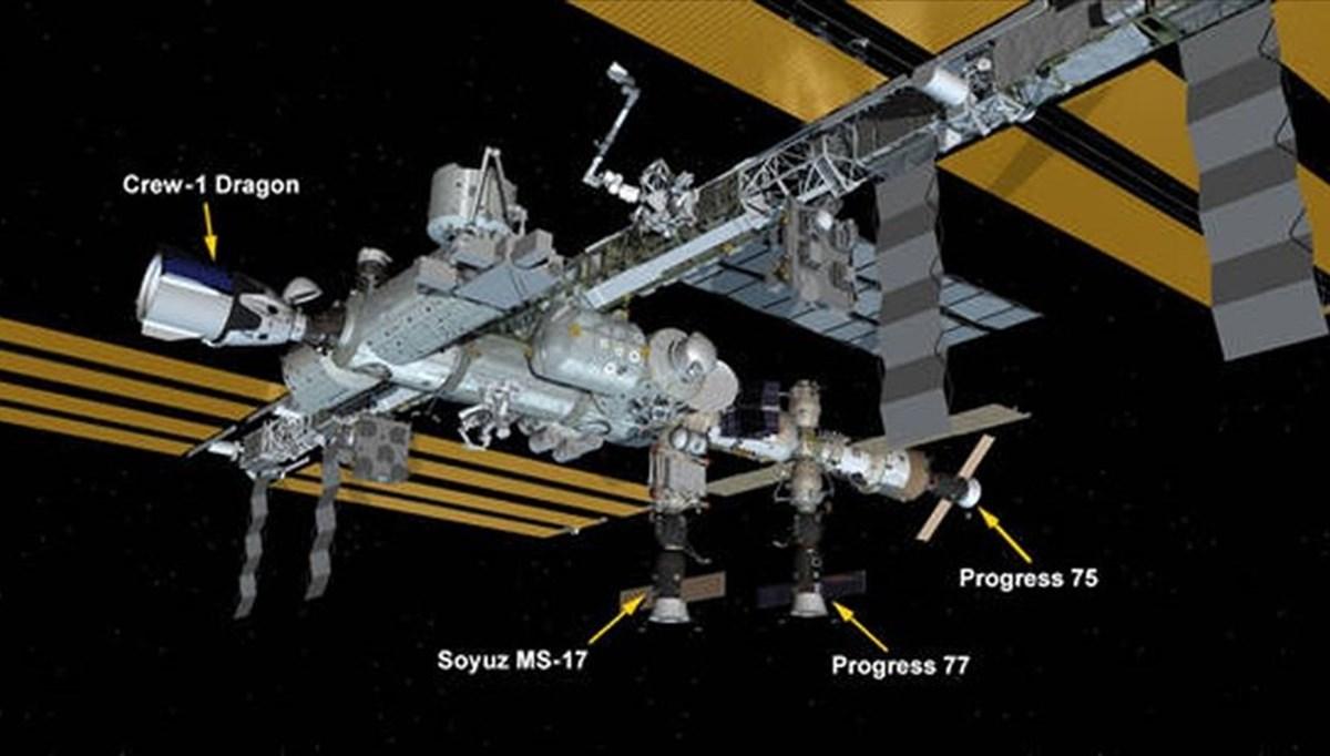 Progress, Uluslararası Uzay İstasyonu'na demirledi