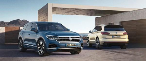 Yeni Volkswagen Touareg'e Euro NCAP'ten beş yıldız