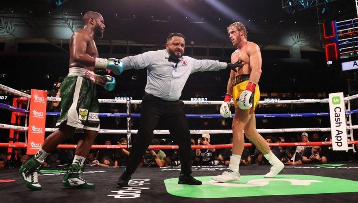 Fenomen Logan Paul ile eski yıldız boksör Mayweather ringte