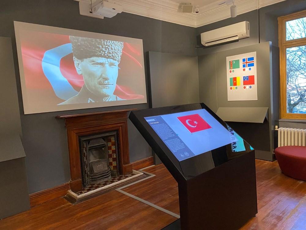 Türkiye'nin ilk milli bayrak müzesi tarihe ışık tutuyor - 9