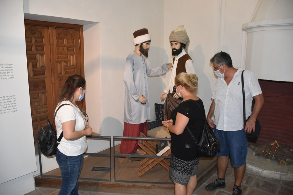 Tarihi Sağlık Müzesi'ne bayramda ziyaretçi akını - 4