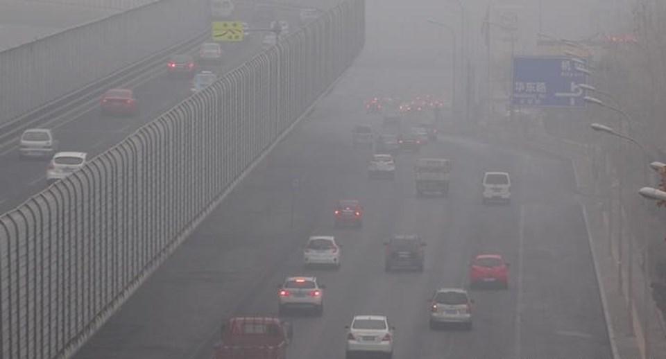 Çin hava kirliliğinin en yoğun olduğu ülkelerden biri