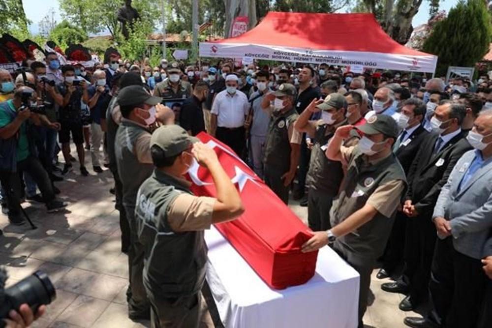 Muğla'da 'orman şehidi' törenle son yolculuğuna uğurlandı - 3