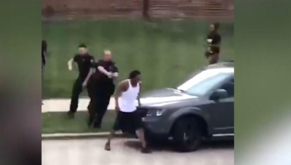 Sırtından 7 kurşunla vuruldu (ABD'de polise büyük öfke)