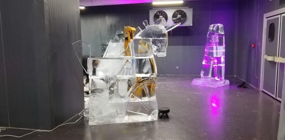Buz'u sanata dönüştürdüler: Atabuz Müzesi 2021 yılının ilk ayında iki farklı sergiye ev sahipliği yapıyor - 4