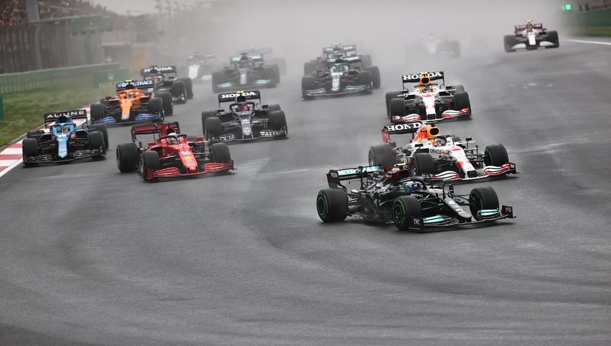 SON DAKİKA: Formula 1 Türkiye Grand Prix'sinde kazanan Bottas