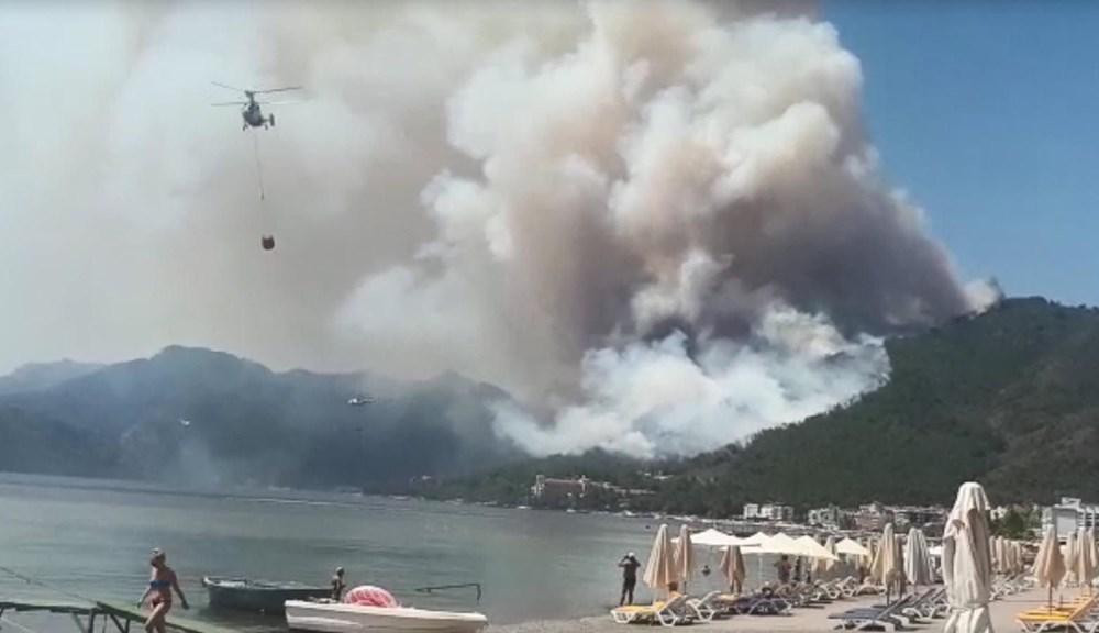 Marmaris'teki orman yangınından acı haber - 3