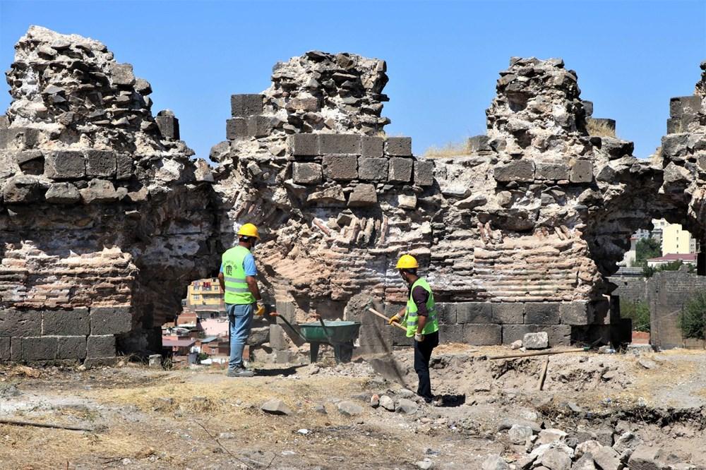 UNESCO mirası Diyarbakır Surları'nda 500 günlük restorasyon başladı - 6