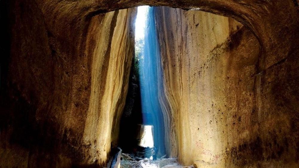 Antik dönemin mühendislik harikası: Bin esire yaptırılan 'Titus Tüneli'ne turist akını - 2