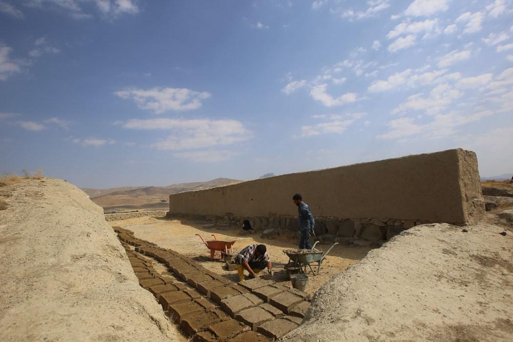 Urartular'a ait 2 bin 750 yıllık tahıl ambarları koruma altına alınıyor - 8
