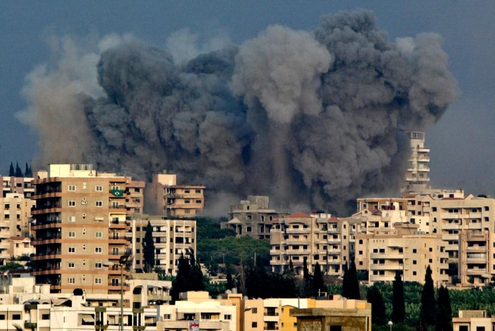 Patlamanın vurduğu Beyrut'tan ilk görüntüler - 1
