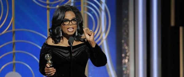 Oprah Winfrey, Trump'a şimdiden 10 puan fark attı