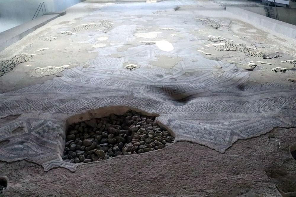 Hatay'da beş dönemin izlerini taşıyan Necmi Asfuroğlu Arkeoloji Müzesi ziyaretçilerini zaman yolculuğuna çıkarıyor - 10