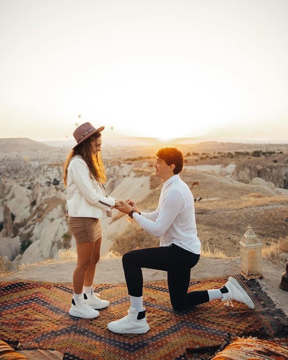 Ebru Şahin, Cedi Osman'ın evlililk teklifini kabul etti - 1