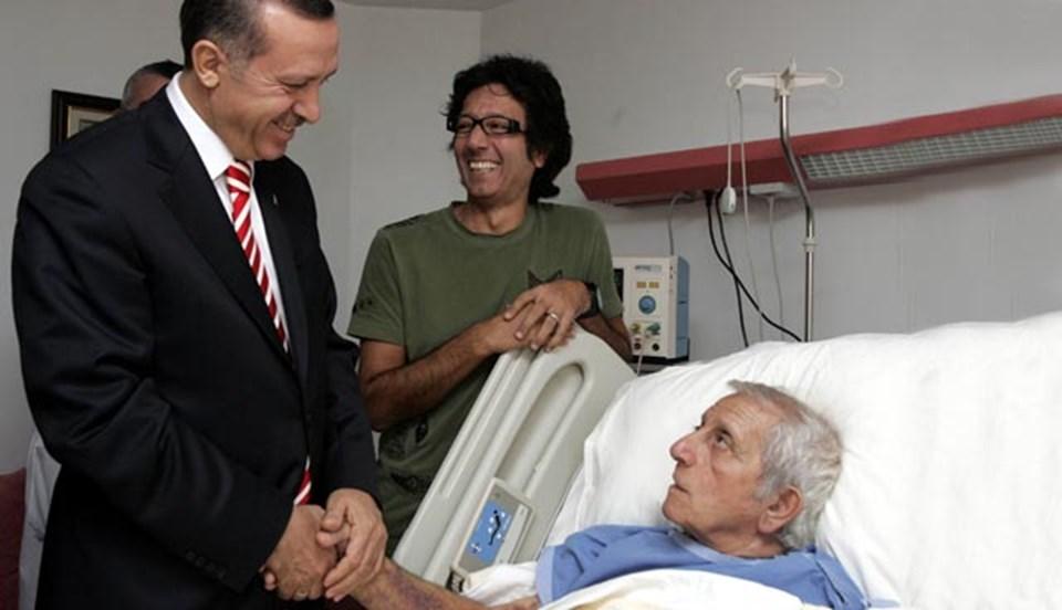 Başbakan Erdoğan, Nejat Uygur'la odasında görüşmüştü.