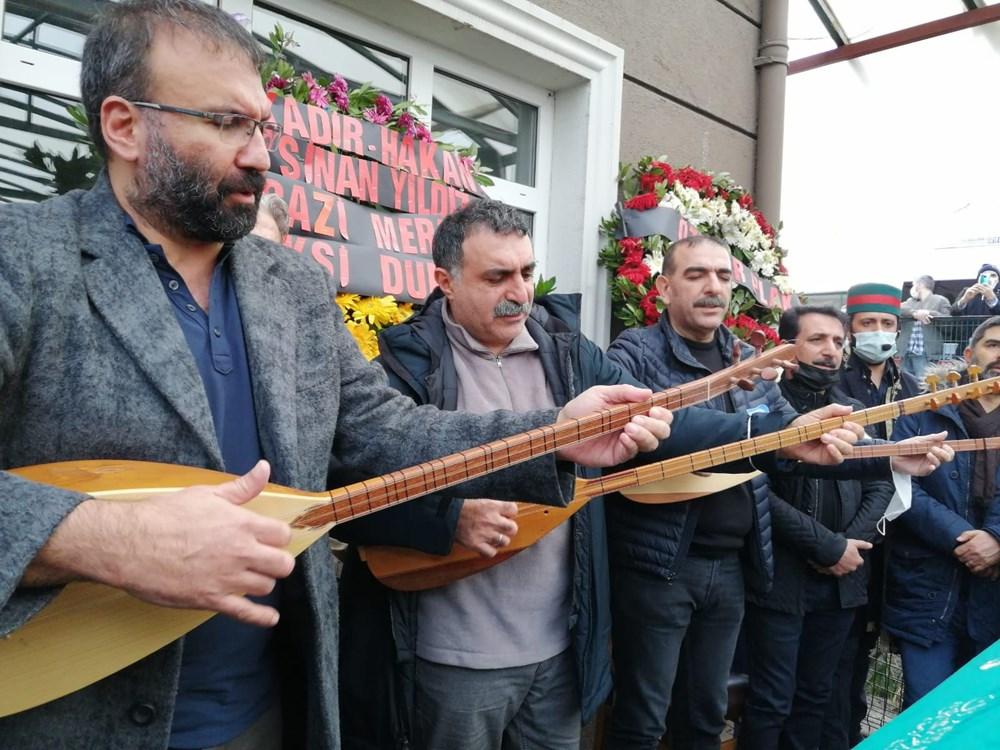 Müzisyen Engin Nurşani son yolculuğuna uğurlandı - 4