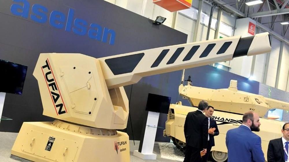 TSK'nın yeni roketatarı 12'den vurdu - 249