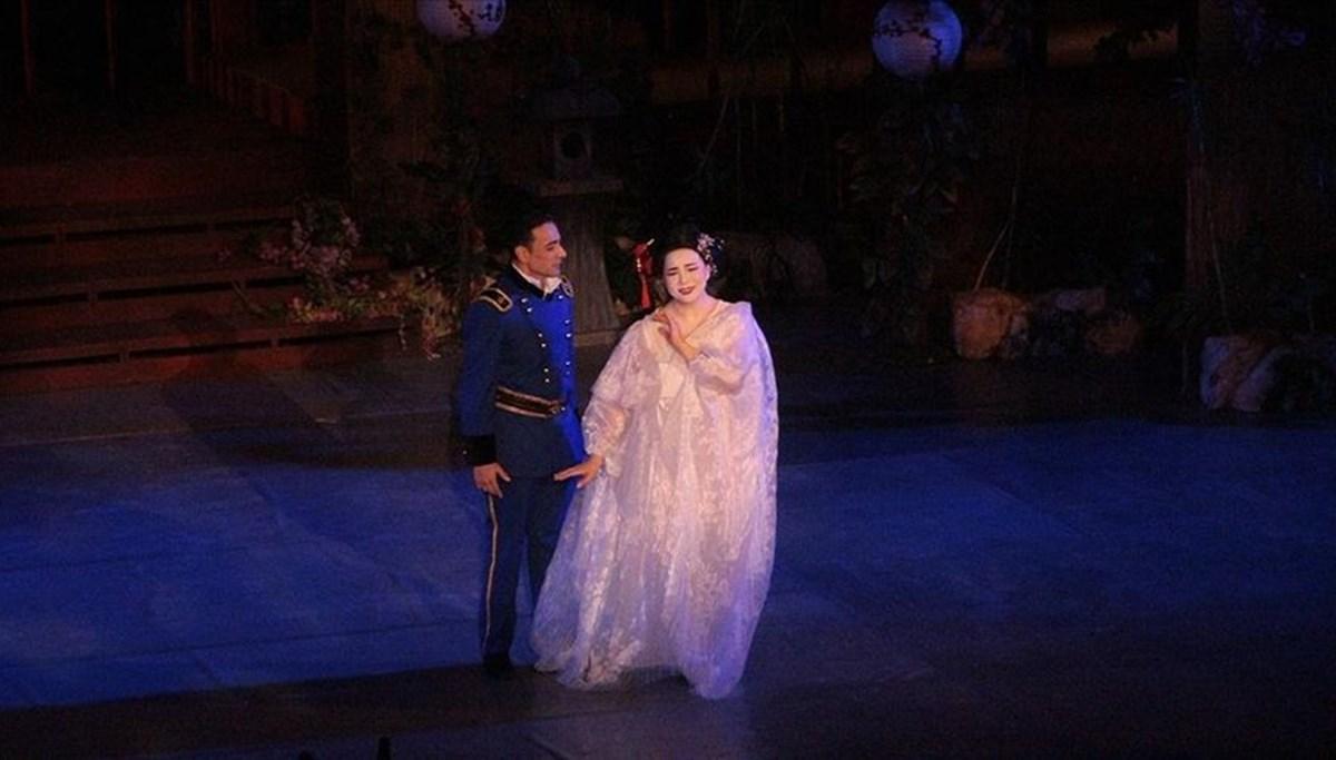 28. Uluslararası Aspendos Opera ve Bale Festivali'nde 'Madama Butterfly' operası sahnelendi