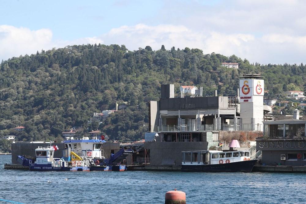İstanbul Boğazı'nın ortasında moloz yığını - 3