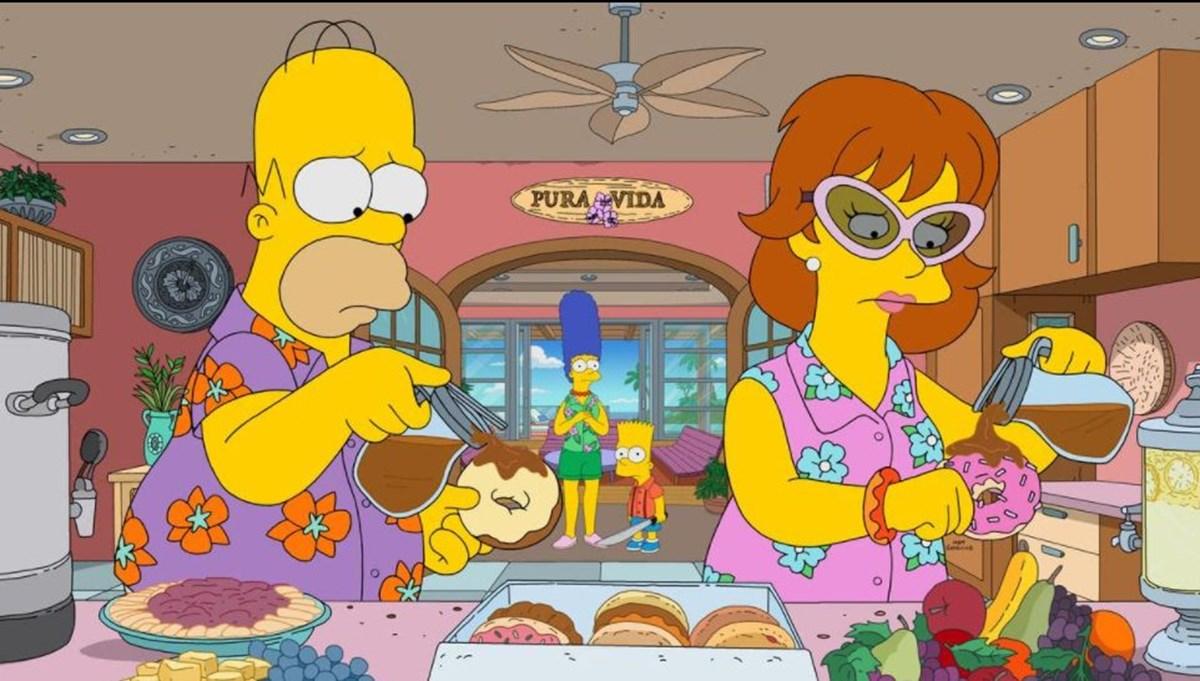 33. ve 34. sezon onayı alan Simpsonlar'dan (The Simpsons) 757. bölüm rekoru