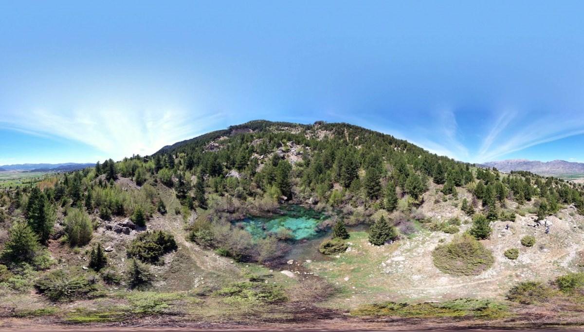 Kahramanmaraş'ta heyelan sonrası oluşan Turkuaz Göl, turizme kazandırılacak