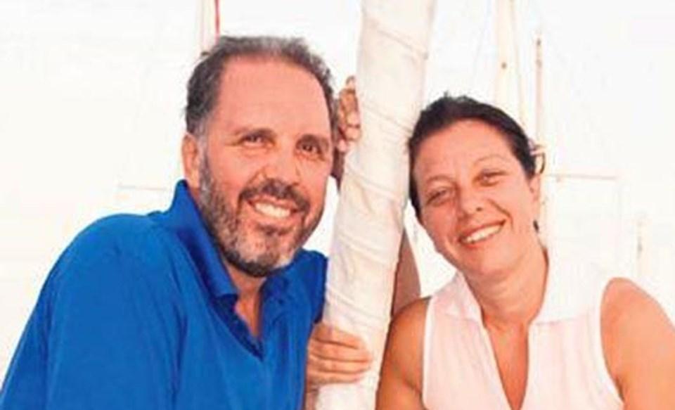 Fatih Erkoç ile eşi Mehliha Erkoç