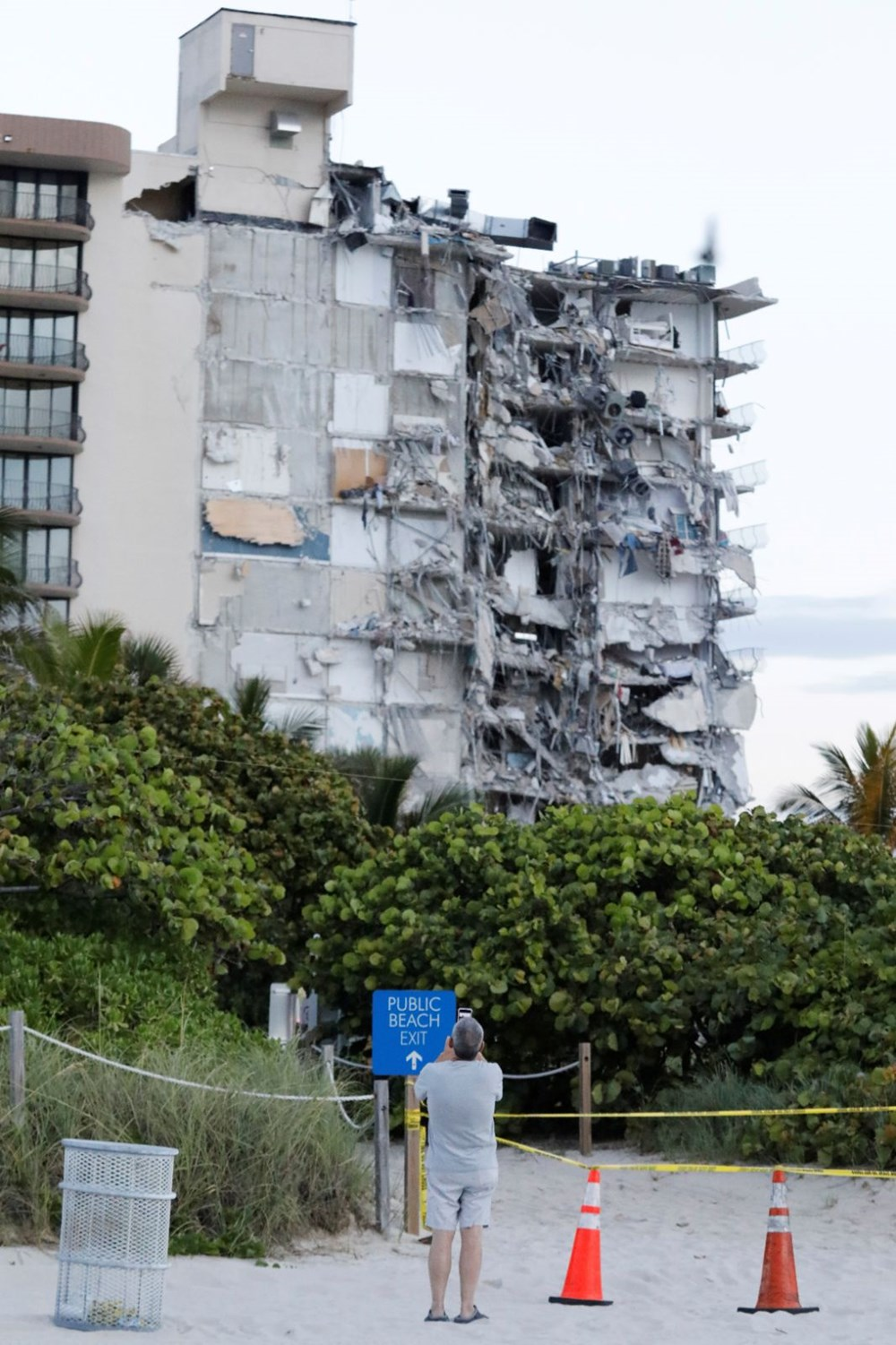 Building collapsed in the USA: Loss of life increased to 4, 159 people missing - 19