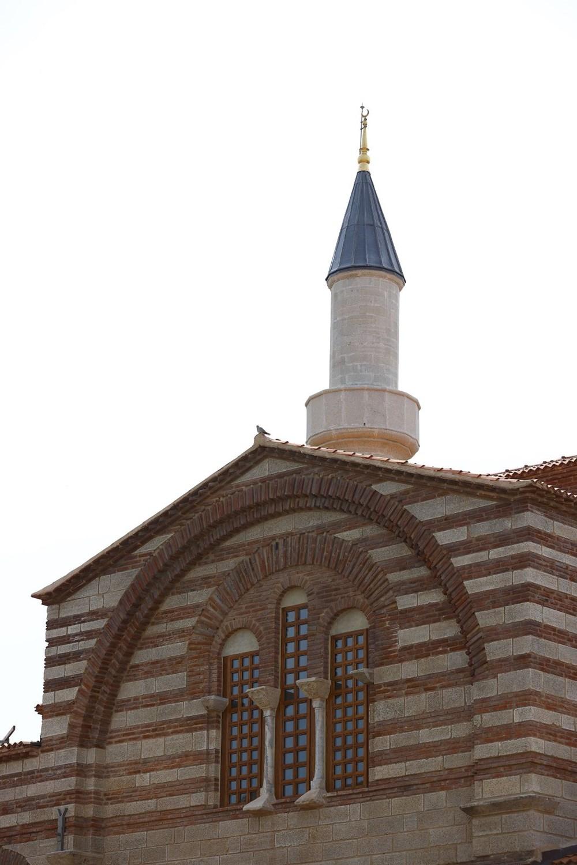 Edirne'deki tarihi Enez Fatih Camisi 56 yıl sonra ibadete açılıyor - 8