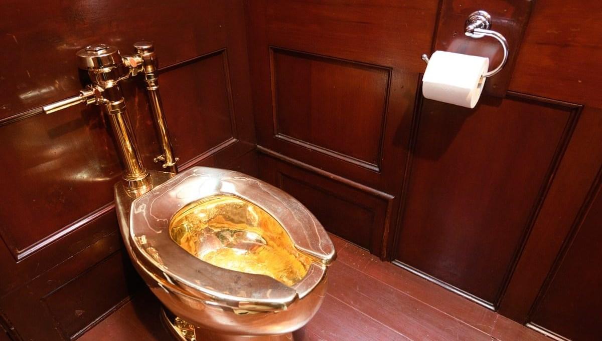 6 milyon dolar değerindeki altın tuvaletten iki yıldır haber yok