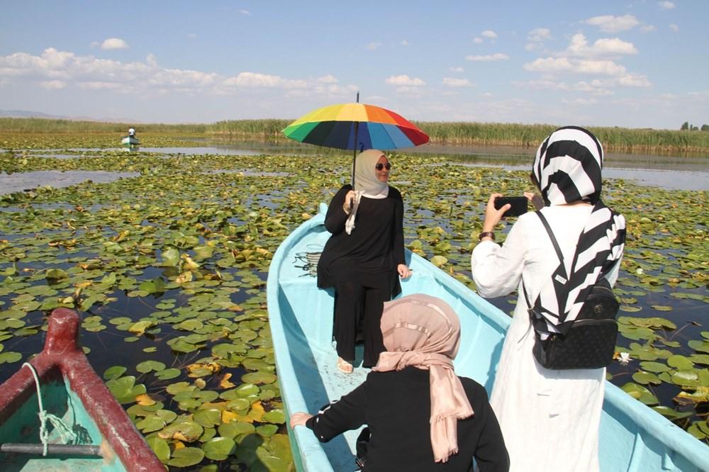 Türkiye'nin en büyük nilüfer bahçesi: Beyşehir Gölü - 10