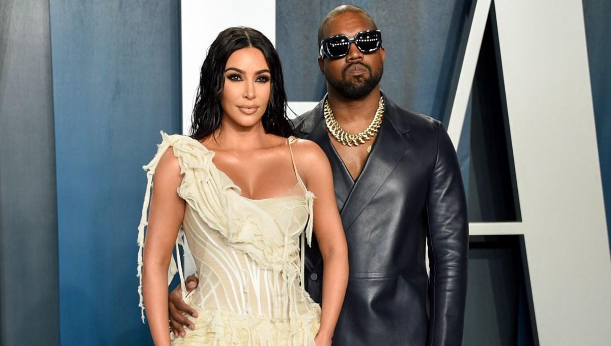 Kanye West, Kim Kardashian'la düğününü yeniden canlandırdı